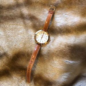 Michael Kors Gold Large Face Watch